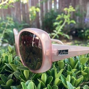 Cole Haan • C639 Dusty Pink Logo Side Sunglasses